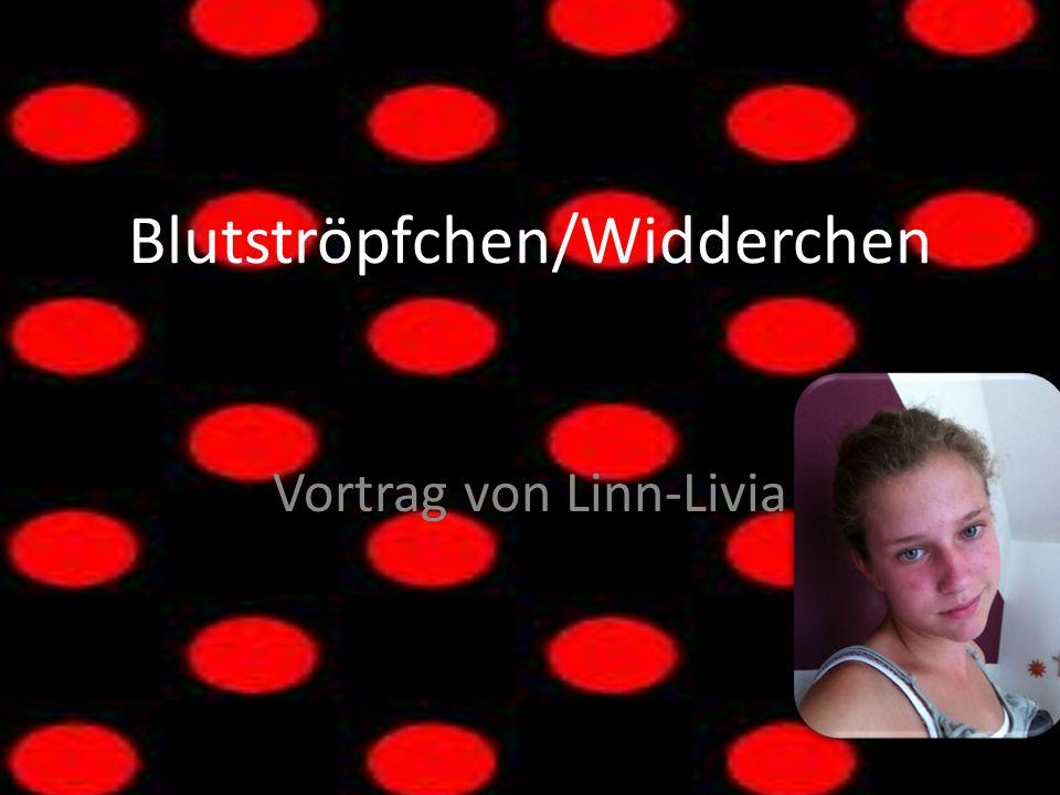 Blutströpfchen/Widderchen Vortrag von Linn-Livia