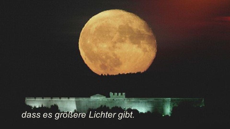 Sei wie der Mond: Leuchte im Dunklen im Bewusstsein,
