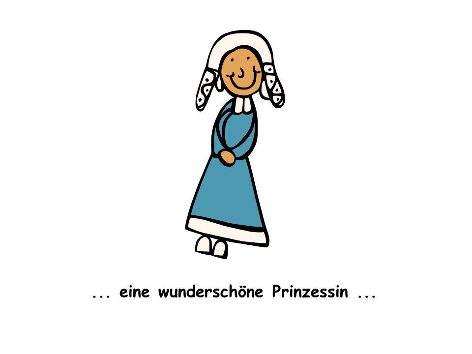 Sie hatte ein Problem: Alles, was die Prinzessin berührte, fing an zu schmelzen: das Metall, das Holz, das Plastik, usw.