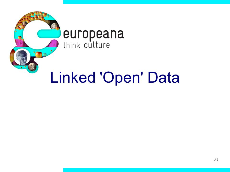 31 Linked Open Data