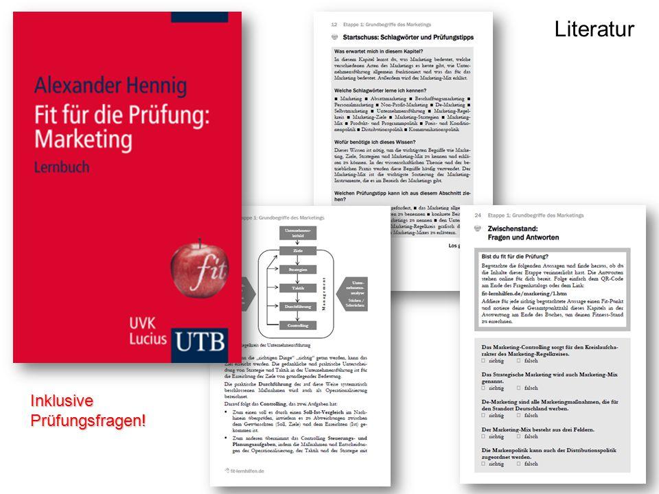 Etappe 1: Grundbegriffe des Marketings