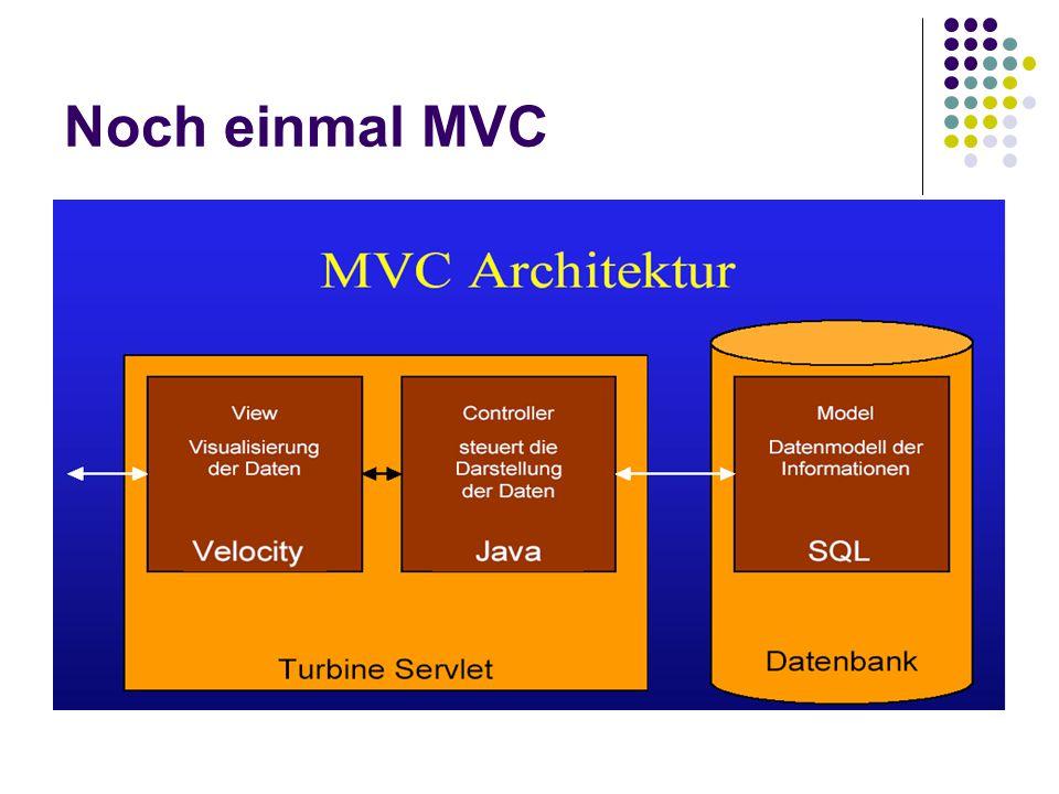Noch einmal MVC
