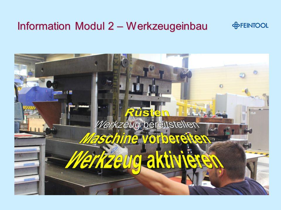 Maschine innen prüfen und putzen Das Werkzeug ist bereit, um in die Maschine eingebaut zu werden- Maschinentisch kontrollieren und gründlich reinigen.