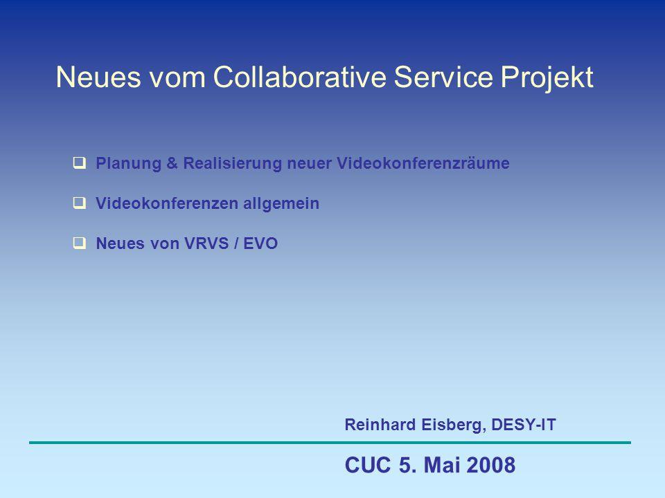 Neues vom Collaborative Service Projekt CUC 5.