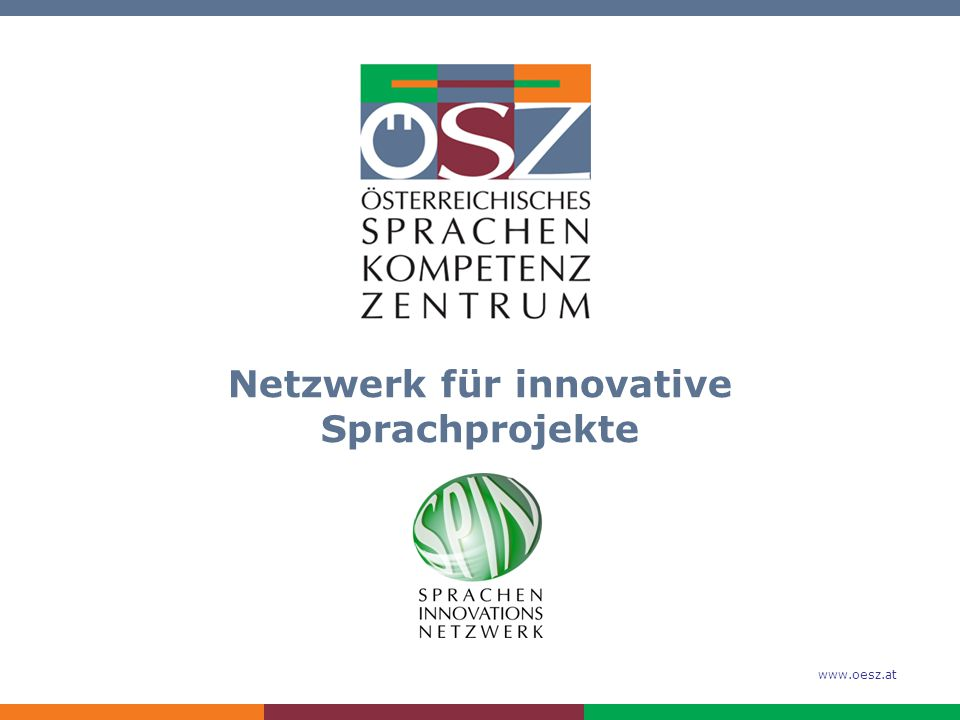 www.oesz.at 2 Was ist SPIN.