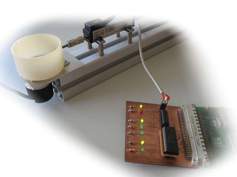 Federwegerfassung Mikrocontrollerprojekt, FT8 Teilnehmer:Michael Kraft Alexis Bedoin Betreuer: Prof. J. Walter