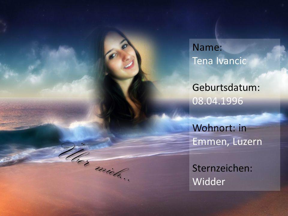 Ich erblickte am 08.04.1996 im Luzerner Kantonspital zum ersten Mal das Licht der Welt.