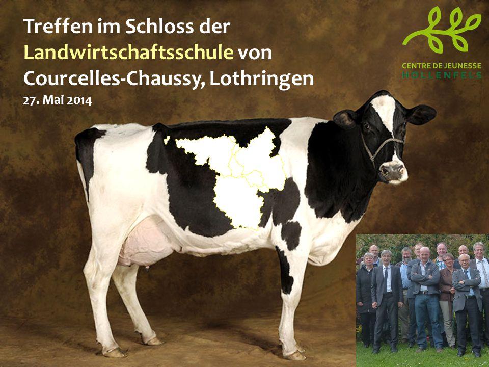 Treffen im Schloss der Landwirtschaftsschule von Courcelles-Chaussy, Lothringen 27. Mai 2014
