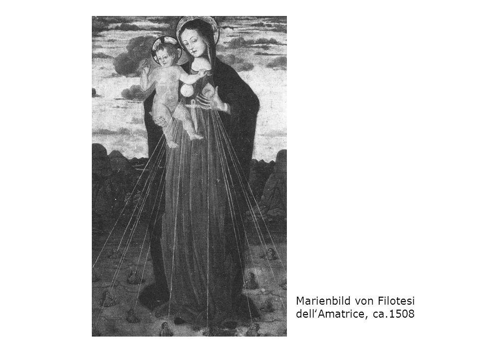 Marienbild von Filotesi dell'Amatrice, ca.1508