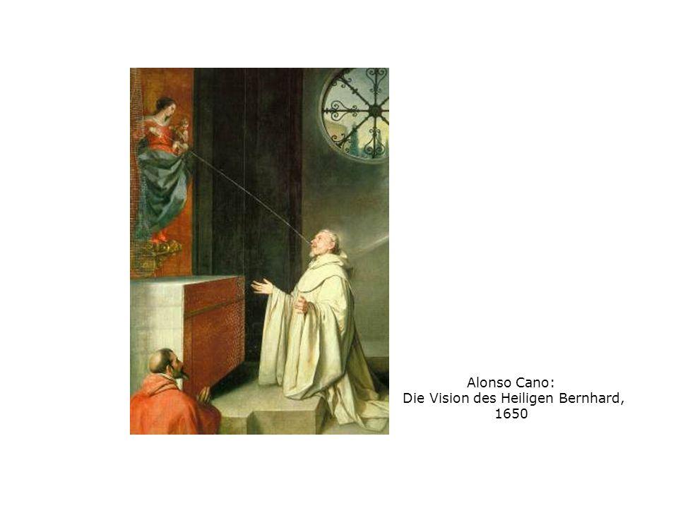 Alonso Cano: Die Vision des Heiligen Bernhard, 1650