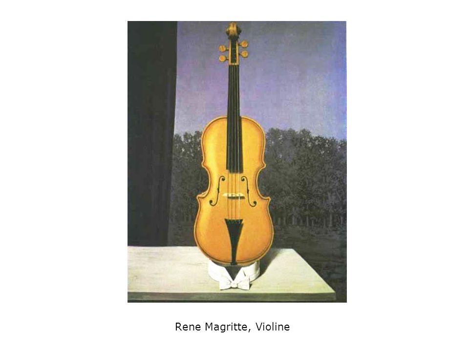 Rene Magritte, Violine