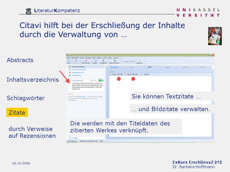 ExKurs ErschliessZ 2/12 Dr.