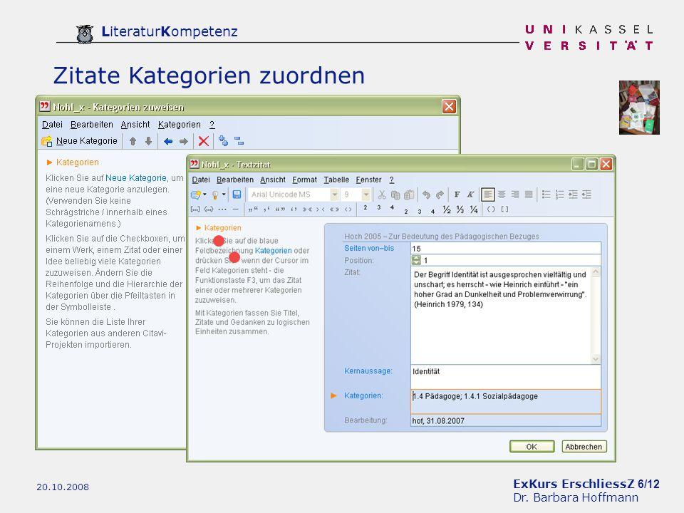 ExKurs ErschliessZ 6/12 Dr.