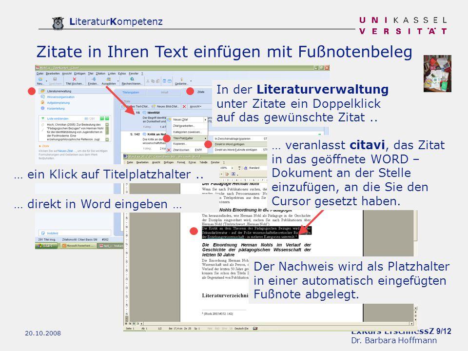 ExKurs ErschliessZ 9/12 Dr.