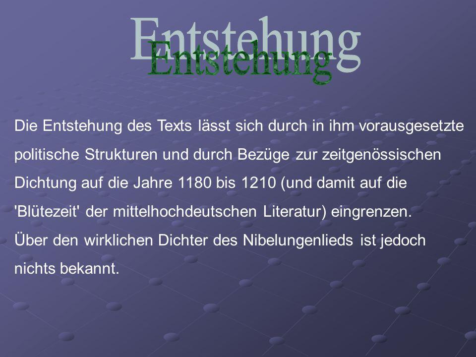 Die Entstehung des Texts lässt sich durch in ihm vorausgesetzte politische Strukturen und durch Bezüge zur zeitgenössischen Dichtung auf die Jahre 118