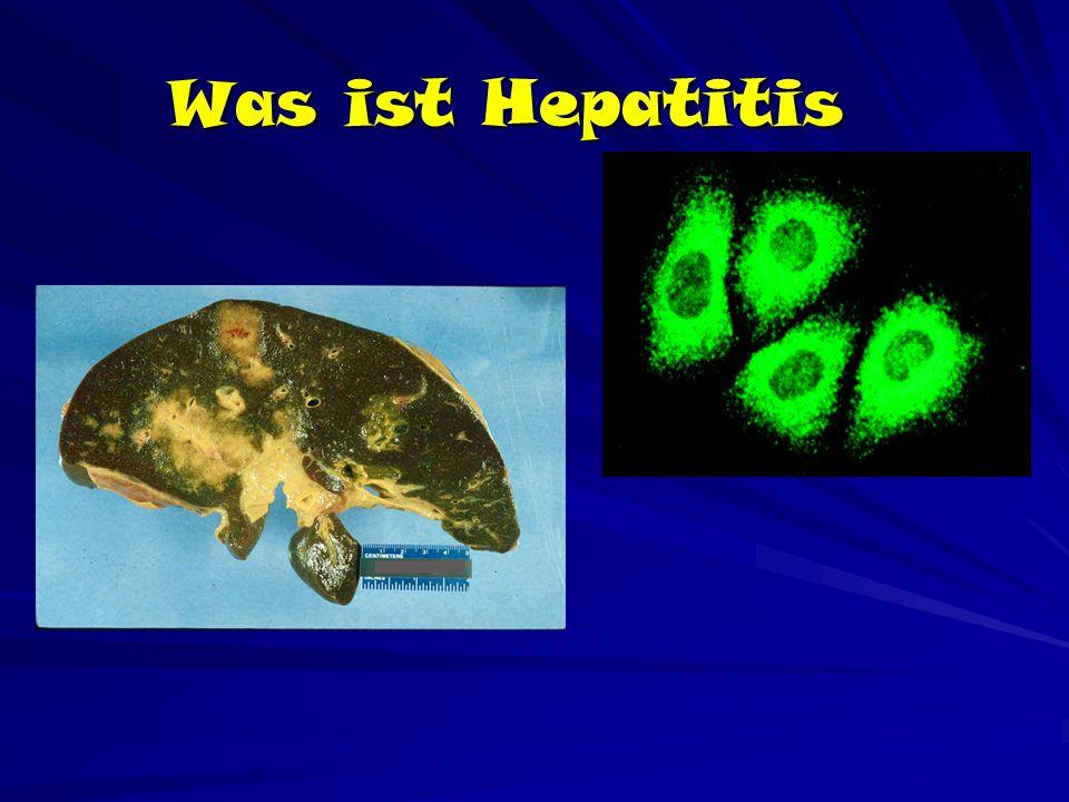 Was ist Hepatitis