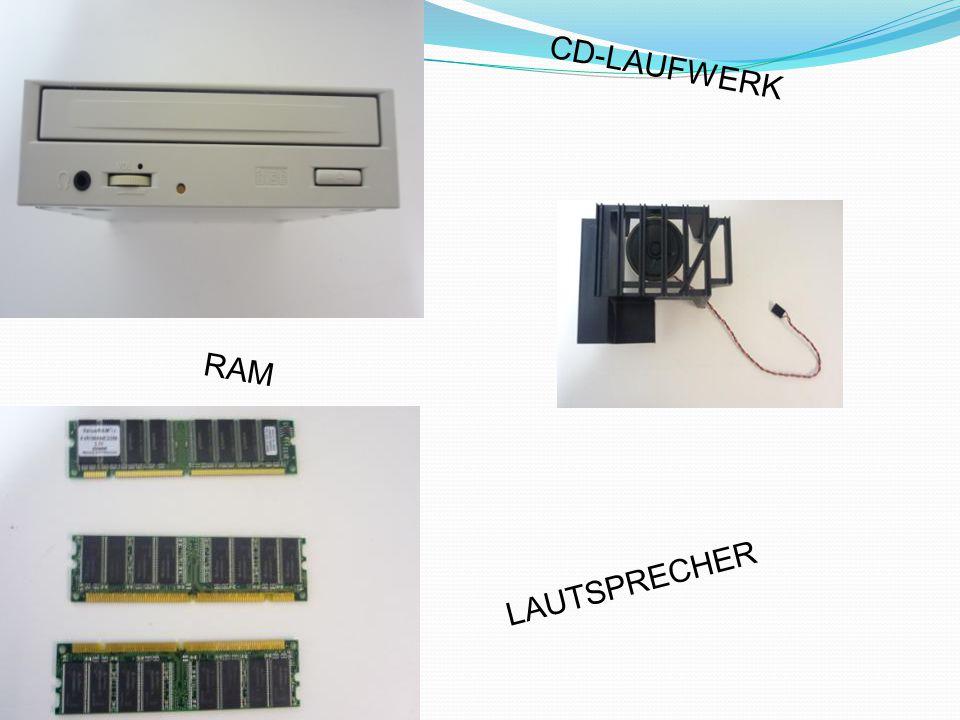 RAM CD-LAUFWERK LAUTSPRECHER