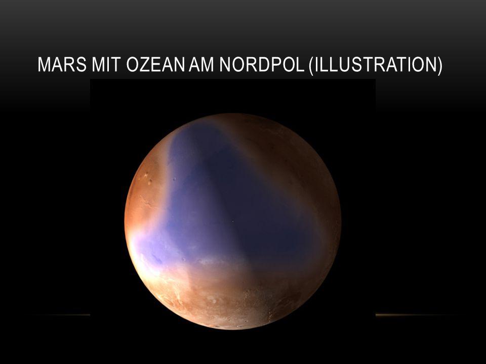 """IV.QUELLEN Textquellen: Lektüre """"Der neunte Kontinent - Die wissenschaftliche Eroberung des Mars von Ulf von Rauchhaupt Sterne und Weltraum """"Ein früherer Ozean auf dem roten Planeten? , Mai 2012 Bildquellen : NASA Website http://www.nasa.gov/images/content/578685main_pia14508-43_full.jpg http://www.nasa.gov/images/content/511393main_pia13794_full.jpg Sterne und Weltraum http://www.sterne-und-weltraum.de/alias/planetenforschung/mars-express-findet- hinweise-auf-einen-frueheren-ozean-auf-dem-roten-planeten/1141287"""
