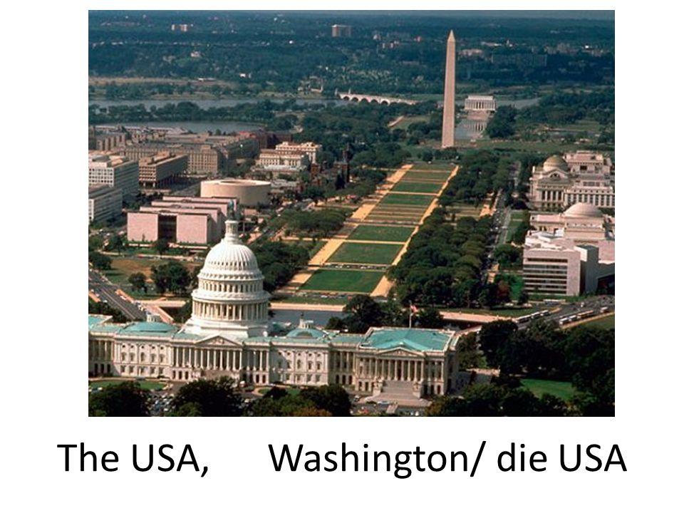 The USA, Washington/ die USA