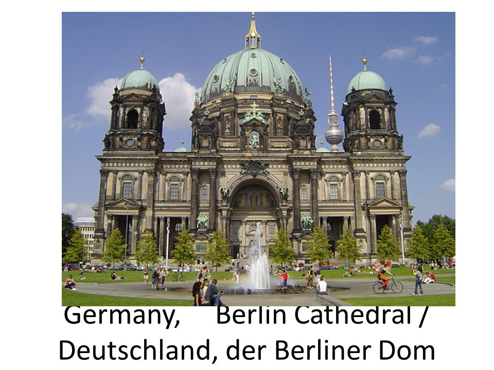 Germany, Berlin Cathedral / Deutschland, der Berliner Dom