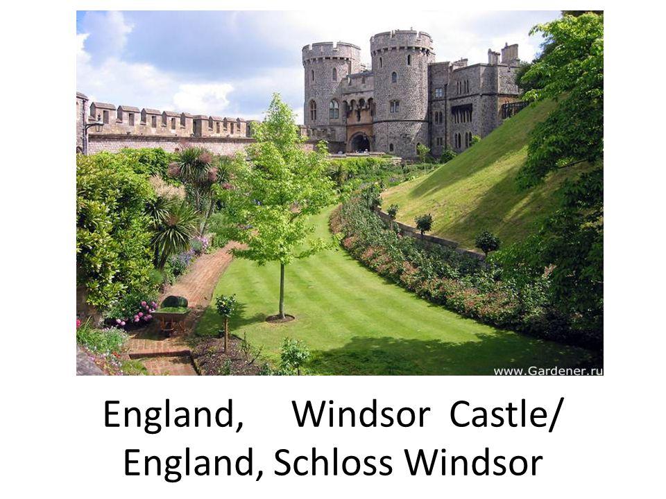 England, Windsor Castle/ England, Schloss Windsor