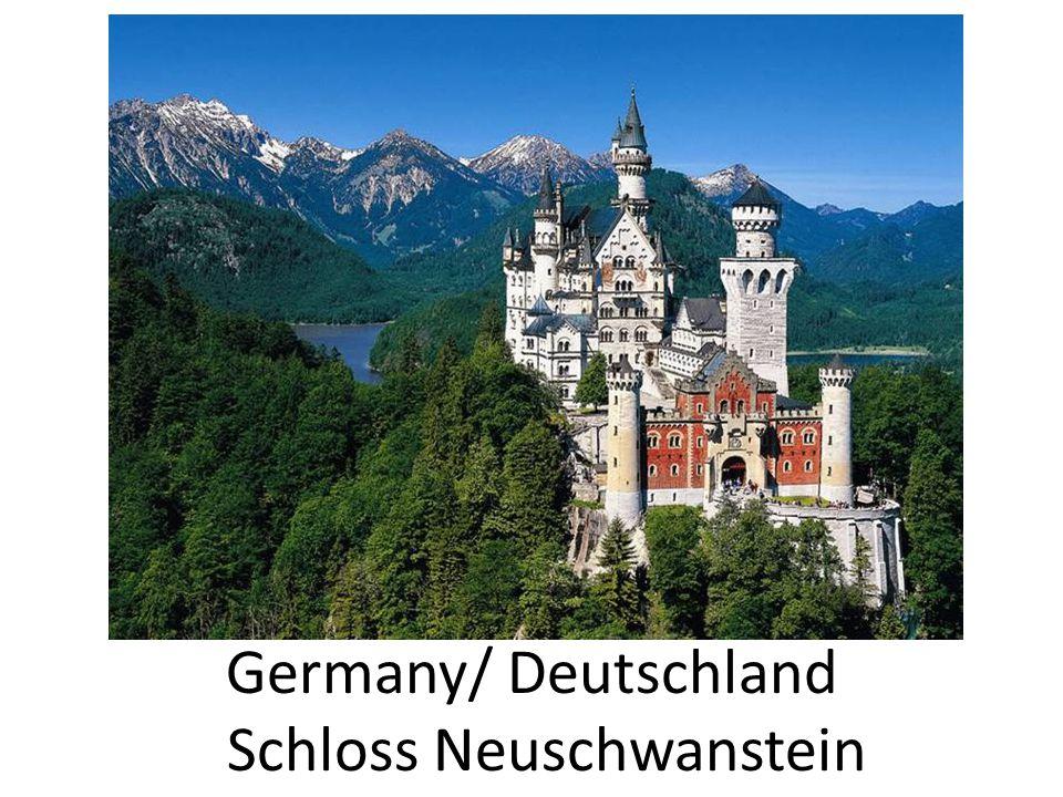 Germany/ Deutschland Schloss Neuschwanstein