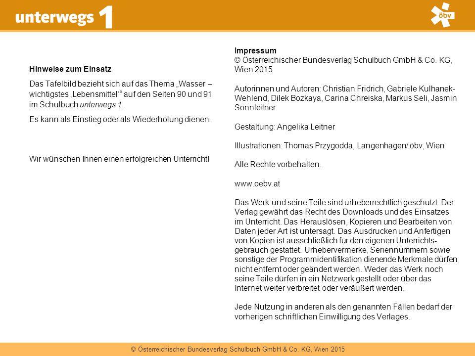 © Österreichischer Bundesverlag Schulbuch GmbH & Co. KG, Wien 2015 Impressum © Österreichischer Bundesverlag Schulbuch GmbH & Co. KG, Wien 2015 Autori