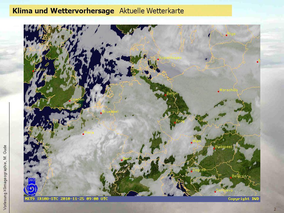 2 Klima und Wettervorhersage Aktuelle Wetterkarte Aktuelles Satellitenbild