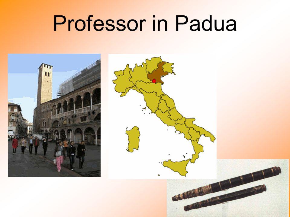 Professor in Padua