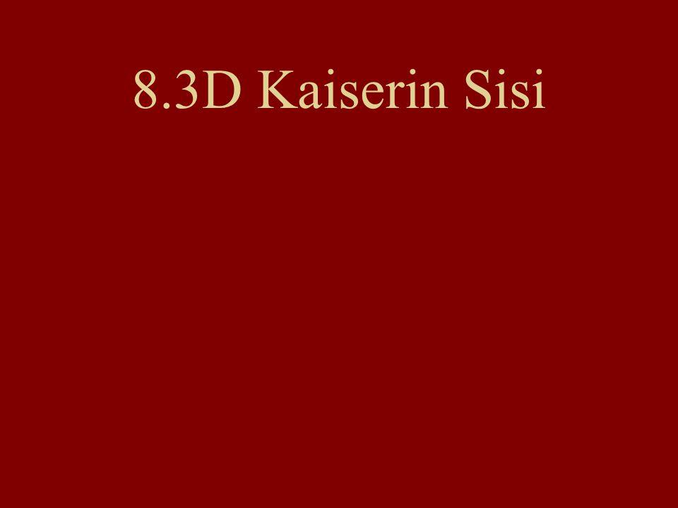 8.3D Kaiserin Sisi