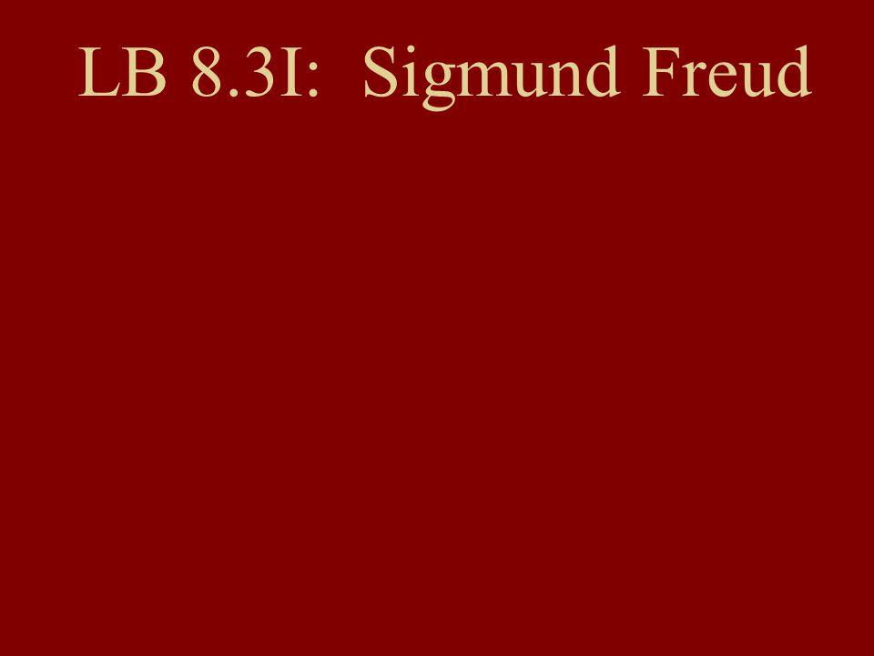 LB 8.3I: Sigmund Freud