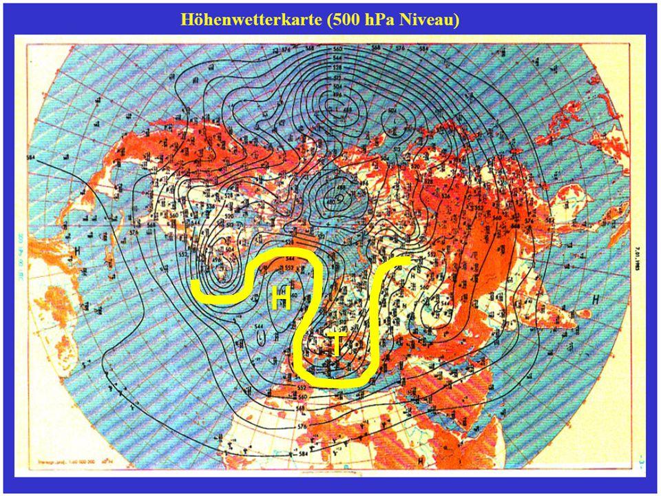 Wie entsteht der Westwindgürtel? Was ist und wie entsteht der Polar-Front- Jetstream? Welche Zirkulationsformen gibt es im Bereich der Westwinddrift?