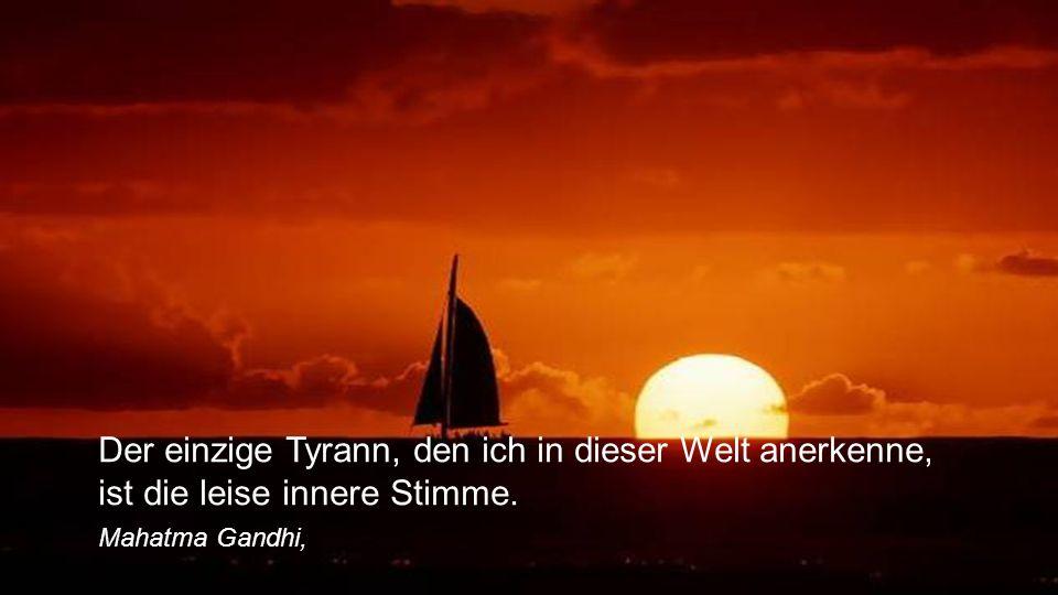 Wahrheit ist die Sprache der Stille. Andreas Tenzer