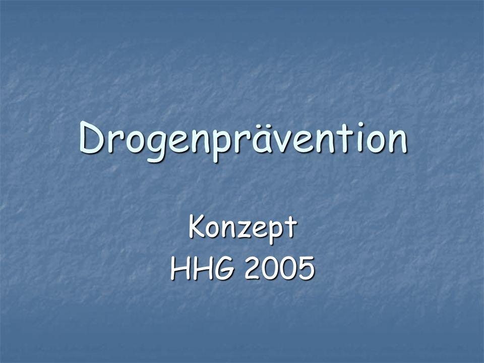 Drogenprävention Konzept HHG 2005