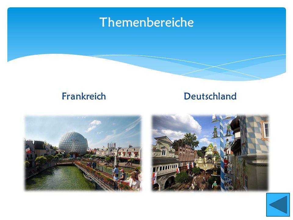 Themenbereiche Frankreich Deutschland