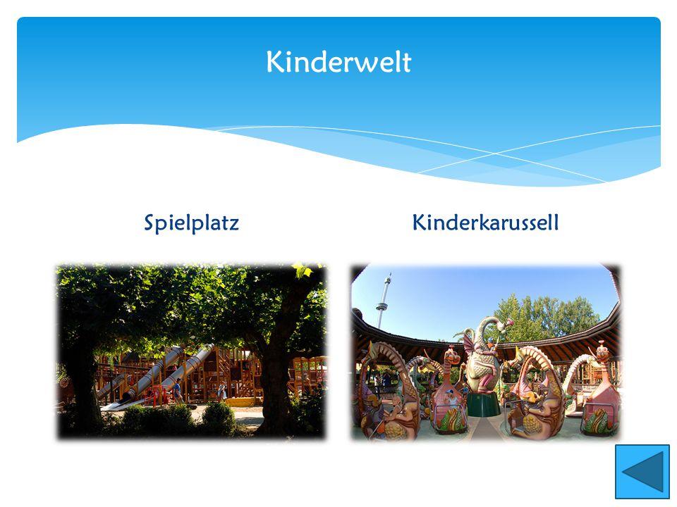 Kinderwelt SpielplatzKinderkarussell