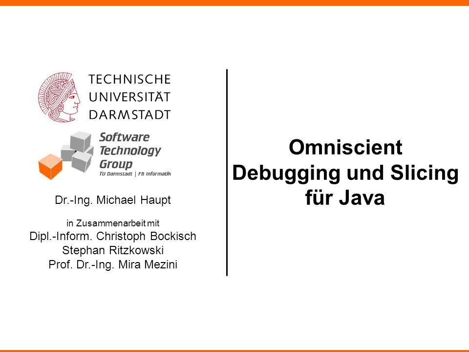 Dr.-Ing.Michael Haupt in Zusammenarbeit mit Dipl.-Inform.