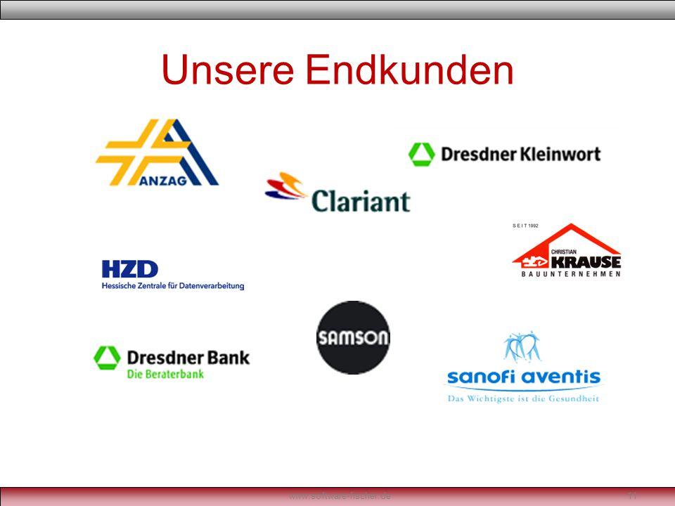 Unsere Endkunden www.software-fischer.de11