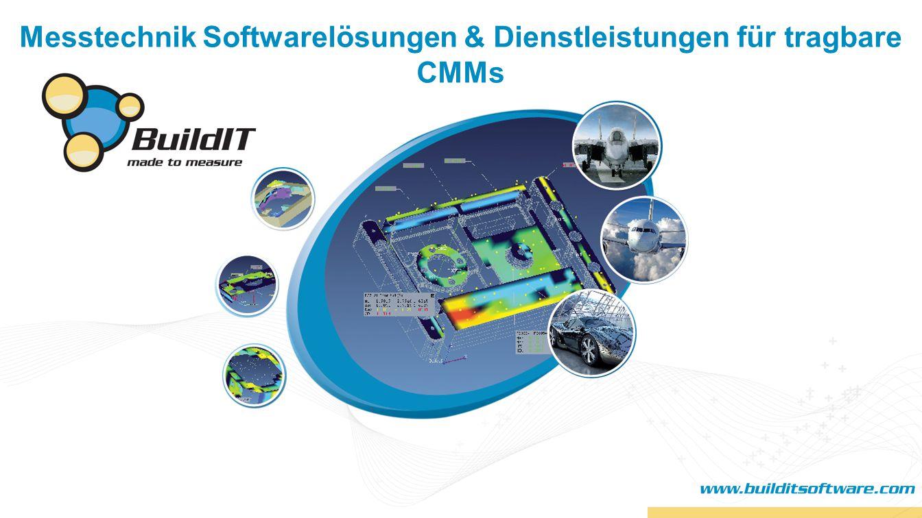 Messtechnik Softwarelösungen & Dienstleistungen für tragbare CMMs