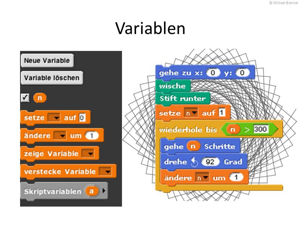 Variablen © Michael Brenner