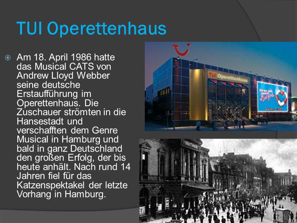 TUI Operettenhaus  Am 18.