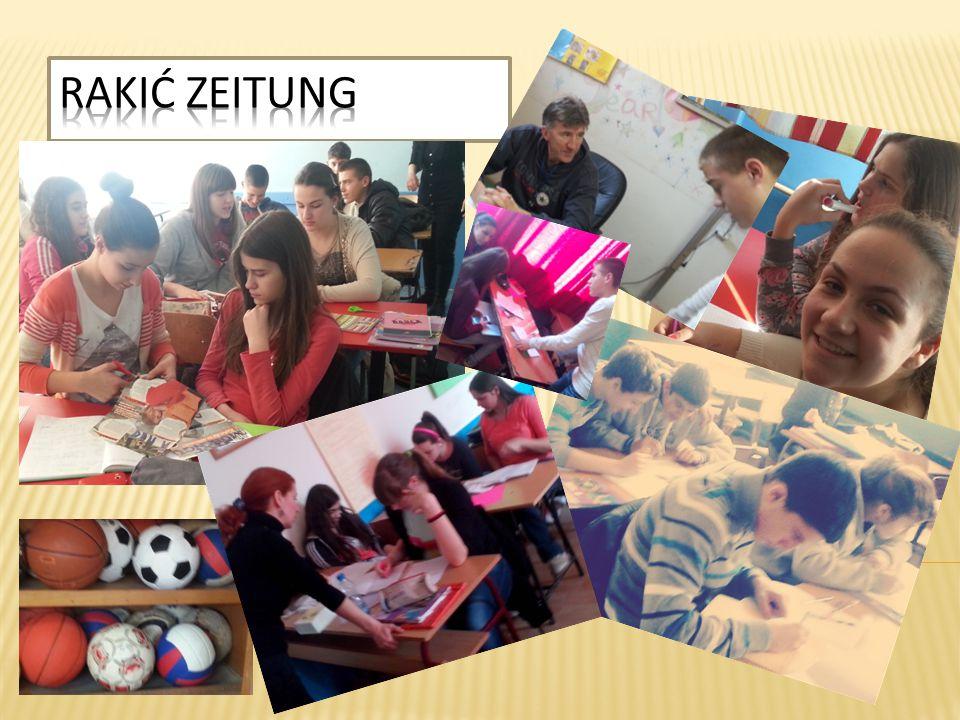 Naši novinari su intervjuisali glumce osnovne škole Milan Rakić.