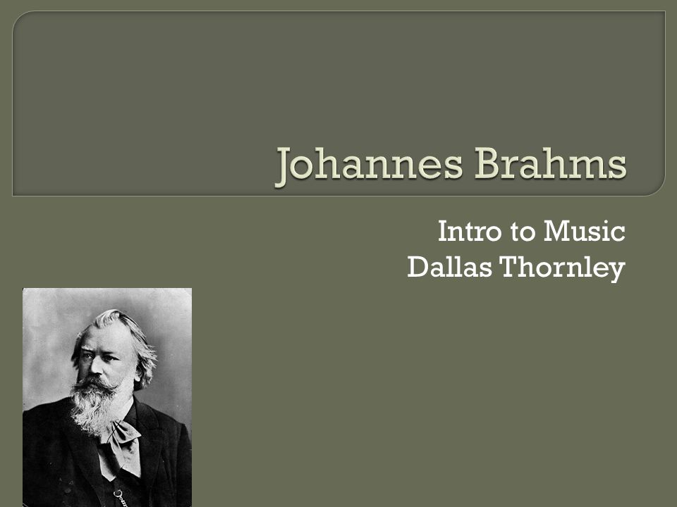  Germany  Musical Family  Young Composer is born.