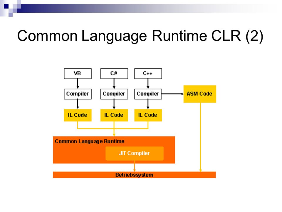 Common Language Runtime CLR (2)