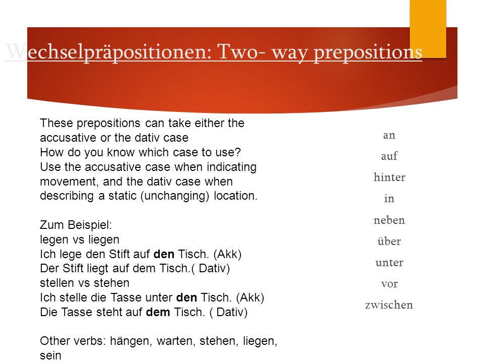 Hausaufgaben: Die/Do  Finish Nominative/Accusative handout I  Dative handouts II  Textbuch S.