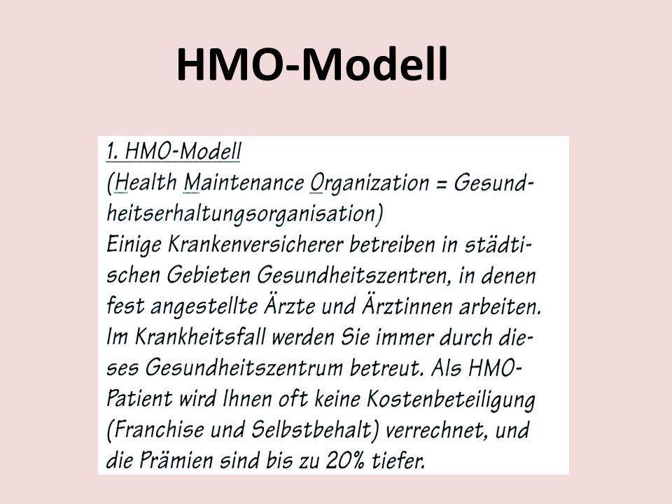 HMO-Modell