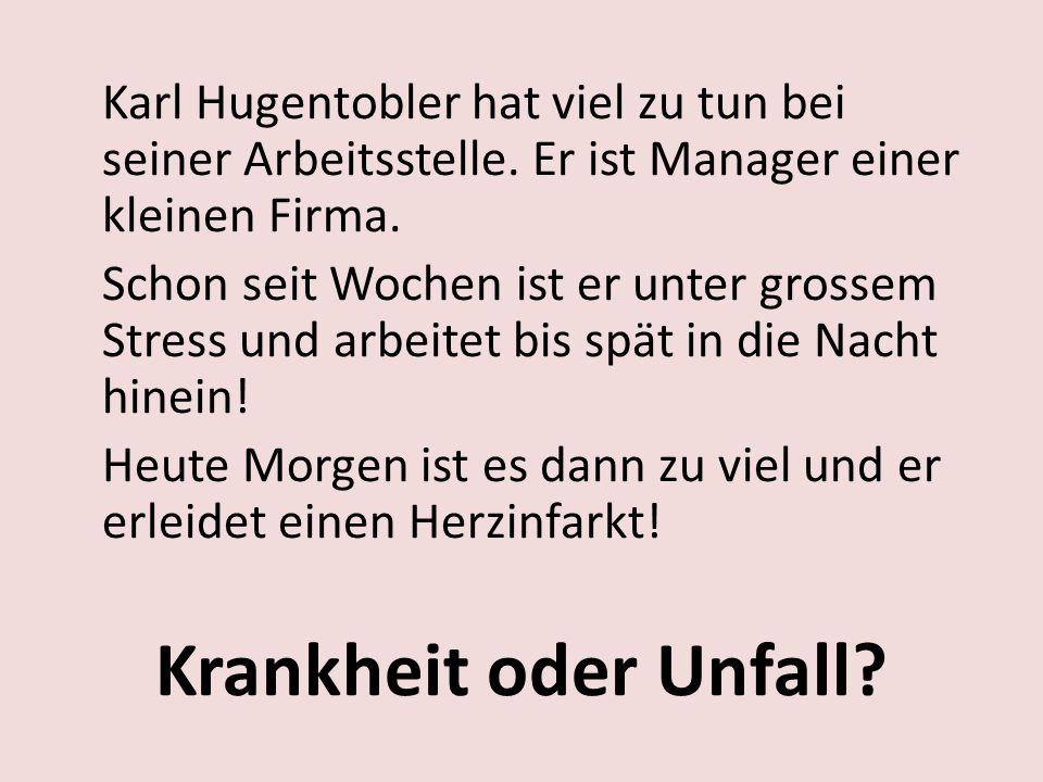 Karl Hugentobler hat viel zu tun bei seiner Arbeitsstelle.
