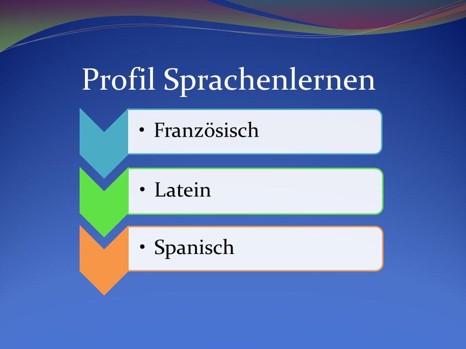 Französisch Latein Spanisch Profil Sprachenlernen