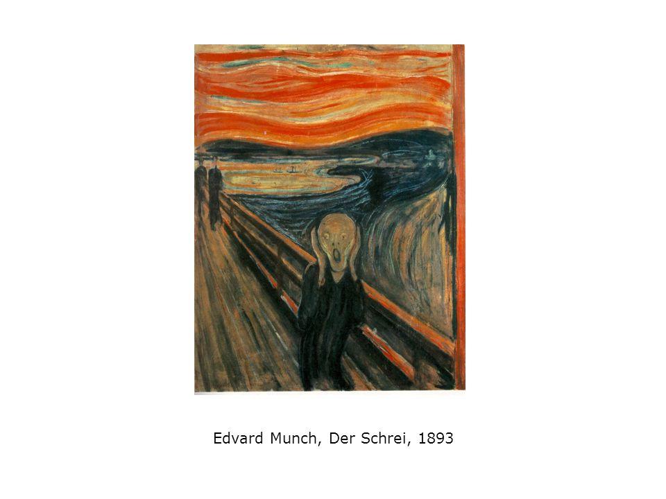 Edvard Munch, Der Schrei, 1893