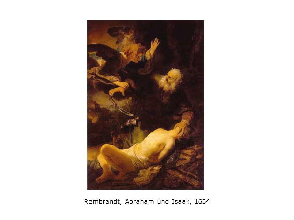 Rembrandt, Abraham und Isaak, 1634